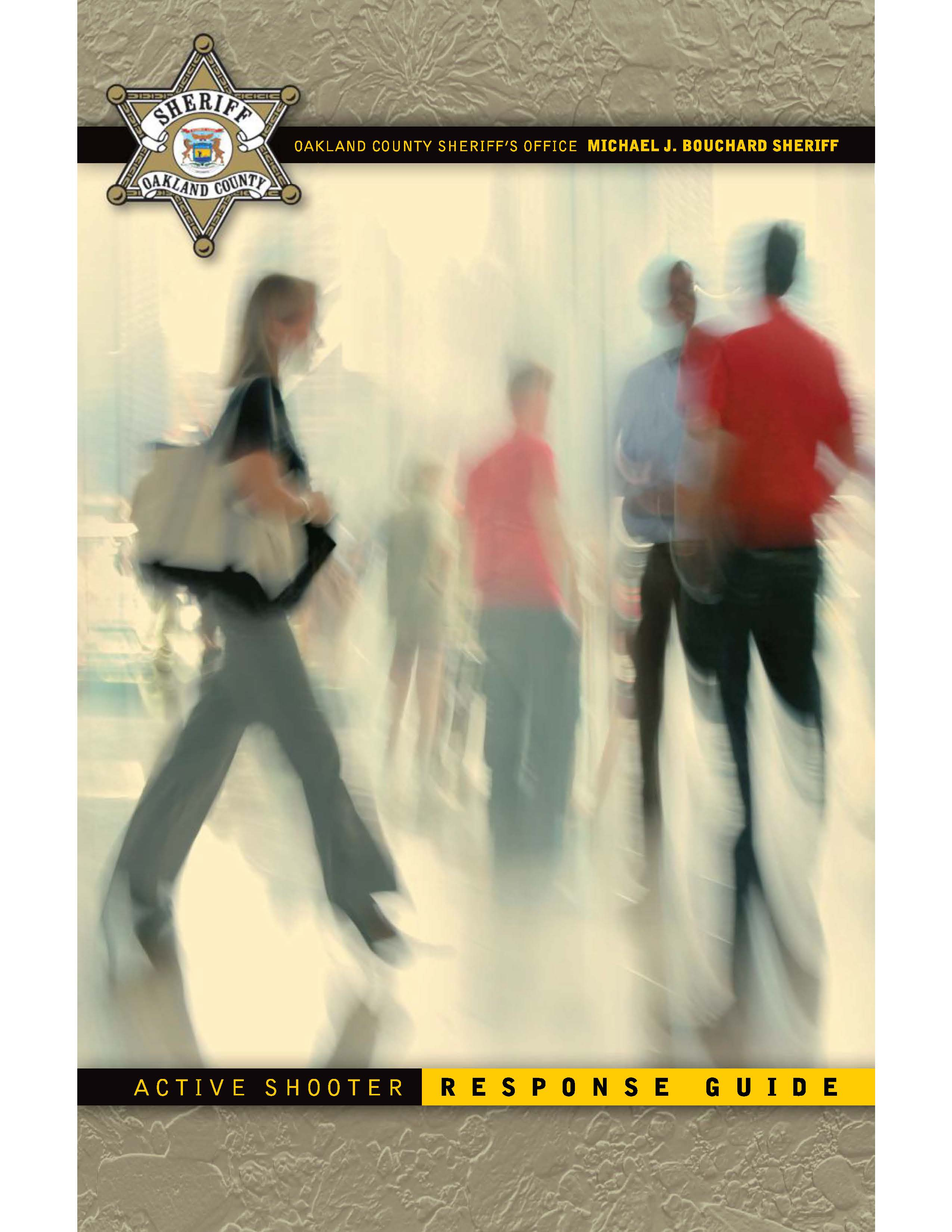 Active Shooter Response Guide Cover Opens in new window